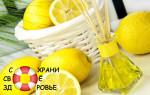 Эфирное масло лимона. Применение
