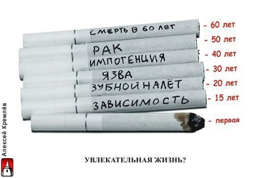 Вред курения. Картинка №4