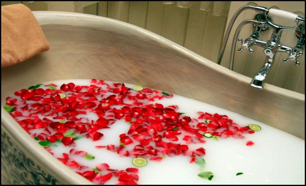Лучше ванна с розами, чем с содой
