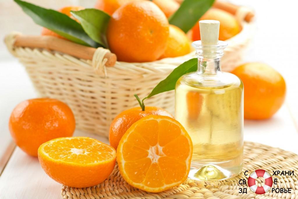 Масло апельсина. Применение