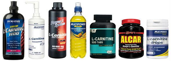 Различные виды l-карнитина