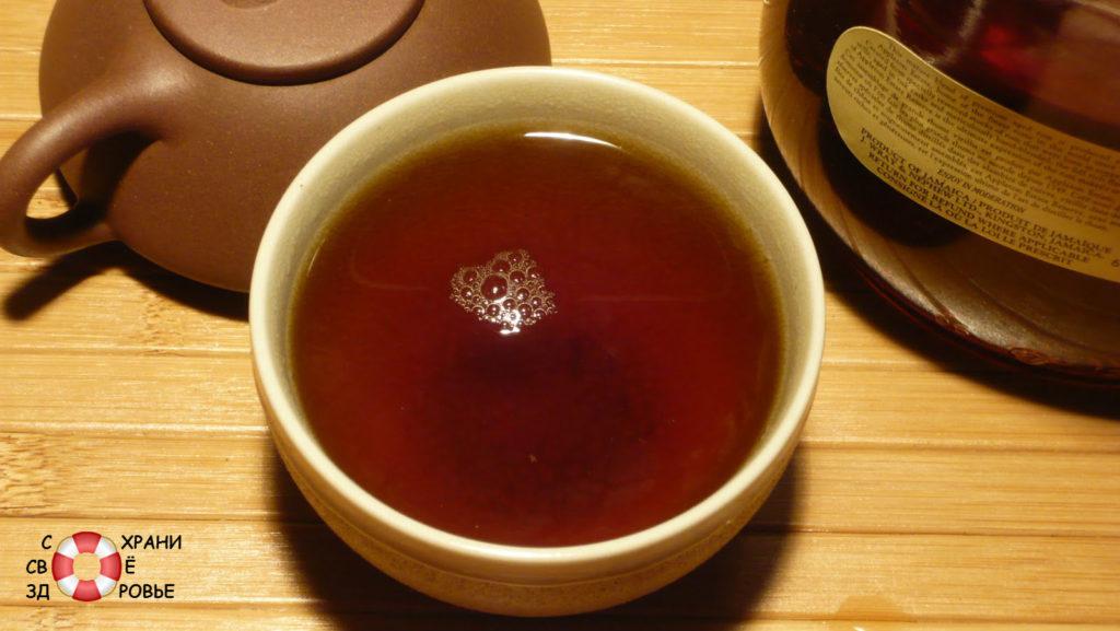 Чай черный. Калорийность
