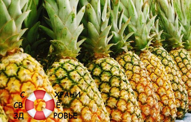 Бромелайн: применение ананасового фермента