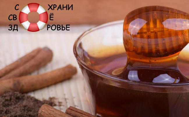 Корица с медом — простое и эффективное средство для лечения и похудения